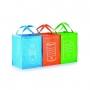 3 maisi atsevišķiem atkritumu veidiem