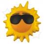 "Antistresa mantiņa ""Saule ar brillēm"""