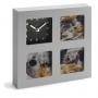 Fotorāmis (7.5x7.5) ar pulksteni