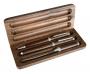 Wooden pen in box