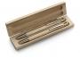 Koka pildspalvas kastītē
