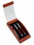 Pildspalvas koka futlārī