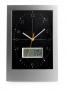 Sienas pulkstenis ar termometru