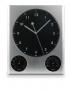 Sienas pulkstenis ar tetmometru un hidrometru