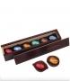Šokolādes konfektes ar alkoholu kastītē ar logo